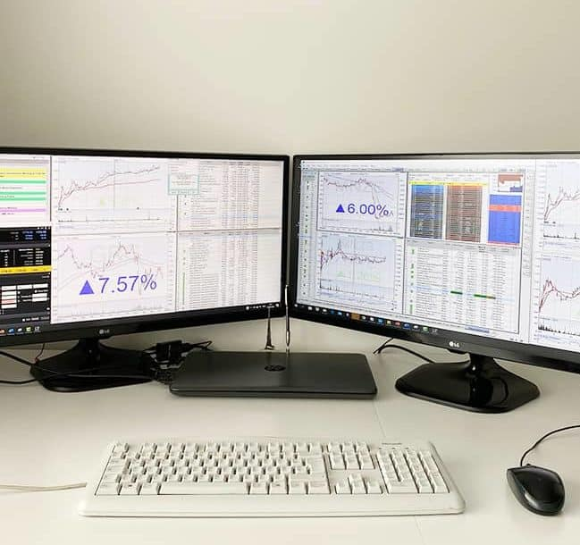 UK Stock Trading On Computers